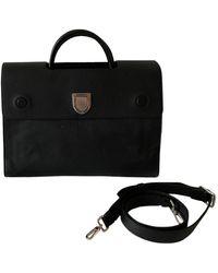 Dior Ever Leather Handbag - Black