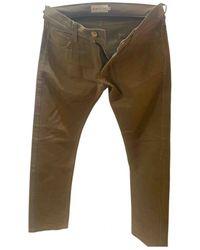 Moncler Tweed Hosen - Braun