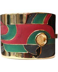 Lanvin Multicolor Metal