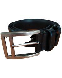 Belstaff Leather Belt - Black