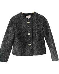 Sandro Black Wool Jacket