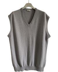 Brunello Cucinelli Cashmere Vest - Grey