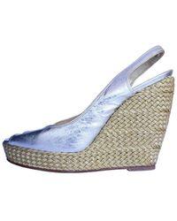 Roger Vivier Leather Sandals - Natural