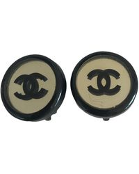 Chanel Earrings - Black