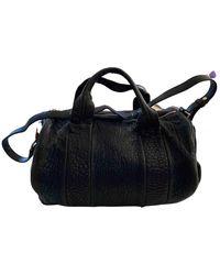 Alexander Wang Rocco Leather Handbag - Black