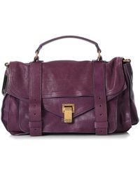 Proenza Schouler \n Purple Leather Handbag