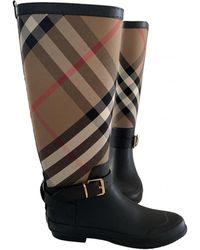 Burberry Wellington Boots - Black