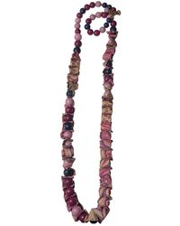 Etro Ceramic Necklace - Purple