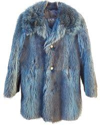 Dior Abrigo - Azul