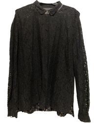 Zadig & Voltaire Lace Shirt - Black
