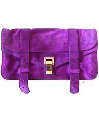 Proenza Schouler Ps1 Clutch Bag - Pink