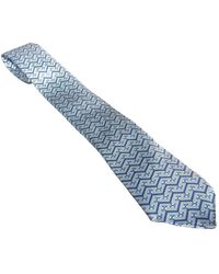 Hermès Blue Silk Ties