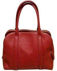 Lancel Adjani Leder Handtaschen - Rot