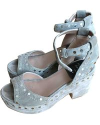 Laurence Dacade Leather Sandals - Multicolour