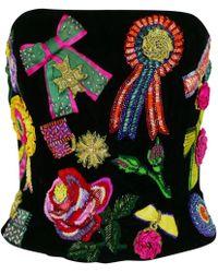 Dior Pre-owned Vintage Black Velvet Top
