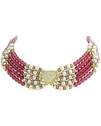 Dior Colliers en Perle Rose
