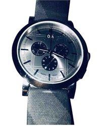 Burberry Uhren - Grau