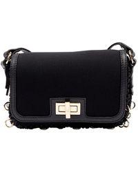 M Missoni Black Polyester Handbag