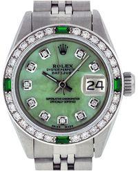 Rolex Datejust Uhren - Grün