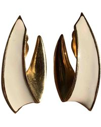 Givenchy Vintage Gold Gold Plated Earrings - Multicolour