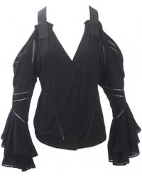 Givenchy | Pre-owned Black Viscose Top | Lyst