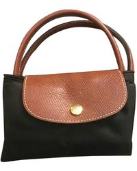 Longchamp Pliage Handbag - Black