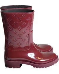 017f43fdfd45 Louis Vuitton - Drops Wellington Boots - Lyst
