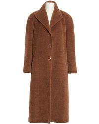 Burberry - Brown Wool - Lyst