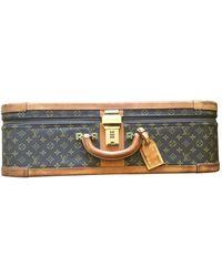 Louis Vuitton Leinen 48 std/ tasche - Braun