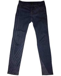 Chanel Slim Jeans - Blue