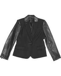 size 40 c3991 ac5ca Marc By Marc Jacobs Jacket Milly Milano Cropped in Black - Lyst