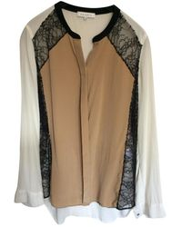Sandro Silk Shirt - Multicolour
