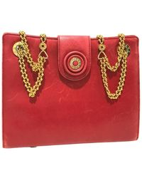 Tiffany & Co. Leather Handbag - Red