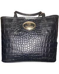Roberto Cavalli Leather Handbag - Black
