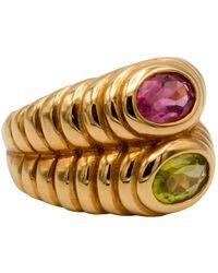 BVLGARI Serpenti Gold Yellow Gold Ring - Metallic