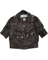 Belstaff - Pre-owned Leather Jacket - Lyst