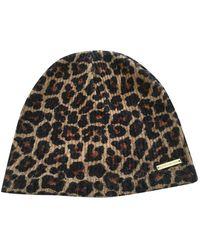 Michael Kors Brown Synthetic Hats