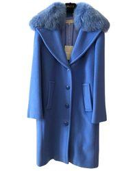 Emilio Pucci Wool Coat - Blue