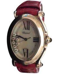 Chopard Reloj Happy Sport - Rojo