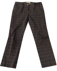 Michael Kors Pantalons en Coton - Multicolore