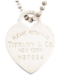 Tiffany & Co. Colliers Return to Tiffany en Argent - Multicolore