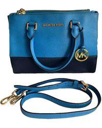 Michael Kors Sutton Leather Handbag - Blue