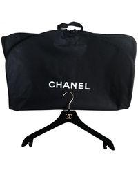 Chanel Cloth Travel Bag - Black