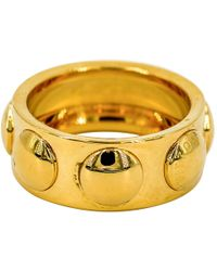 Louis Vuitton - Pre-owned Clous Gold Yellow Gold Rings - Lyst