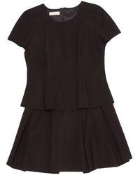 Ba&sh - Black Viscose Dress - Lyst