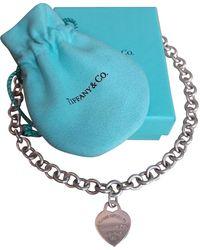 Tiffany & Co. Return To Tiffany Silber Colliers - Mehrfarbig