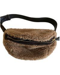 Max Mara Crossbody Bag - Natural