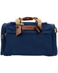Lancel - Pre-owned Cloth Travel Bag - Lyst