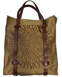 Valentino Leinen Taschen - Mettallic