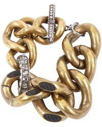 Lanvin - Pre-owned Gold Metal Bracelets - Lyst